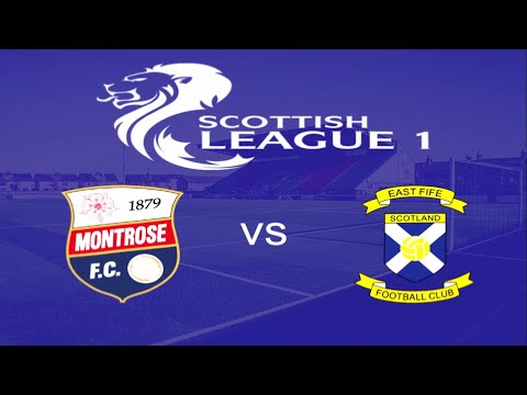 Montrose East Fife Goals And Highlights