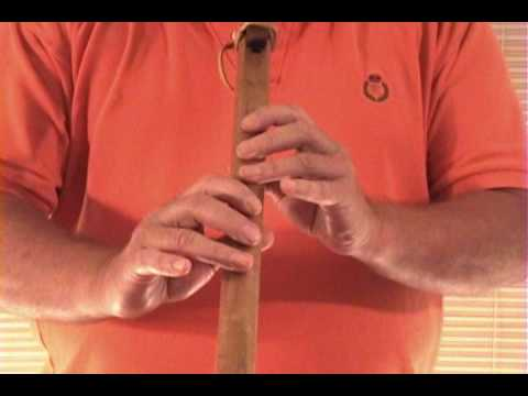 Taps 5 Hole Native American Flute Lesson How to Play   Keith Davis