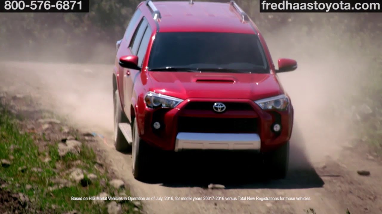 2018 toyota 4runner fred haas toyota world spring tx tx youtube. Black Bedroom Furniture Sets. Home Design Ideas