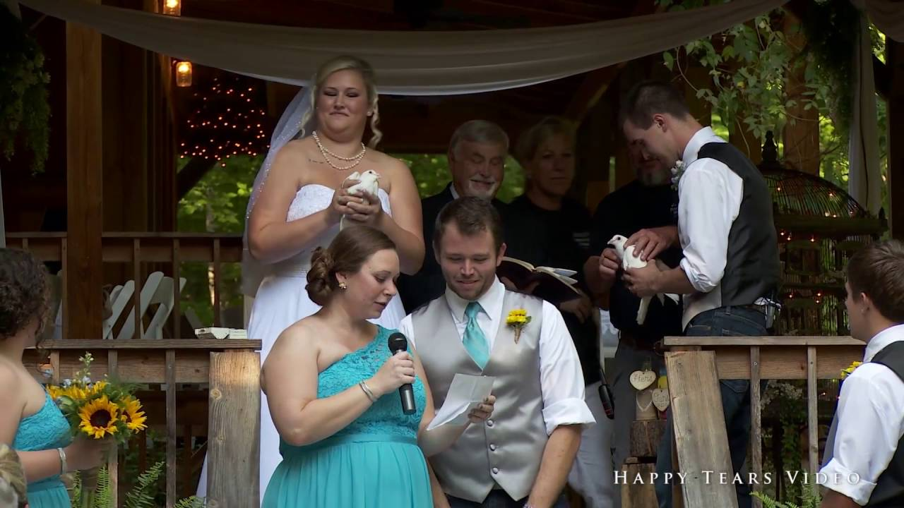 "Friends Farm Weddings ""Dove Release"""