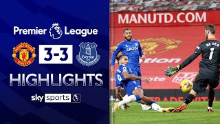 Calvert-Lewin scores last-gasp equaliser to STUN Red Devils! | Man Utd 3-3 Everton | EPL Highlights
