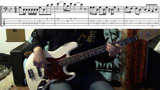 I shot the sheriff Bob Marley - bass cover by Roberto Fasciani with tab