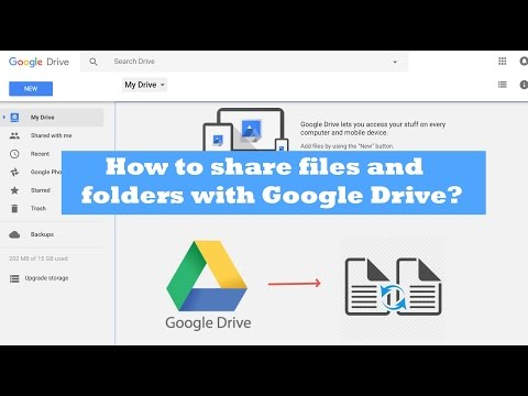 Google Drive Share Folders And Files