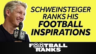 Bastian Schweinsteiger Ranks His Football Inspirations | B/R Football Ranks in Chicago