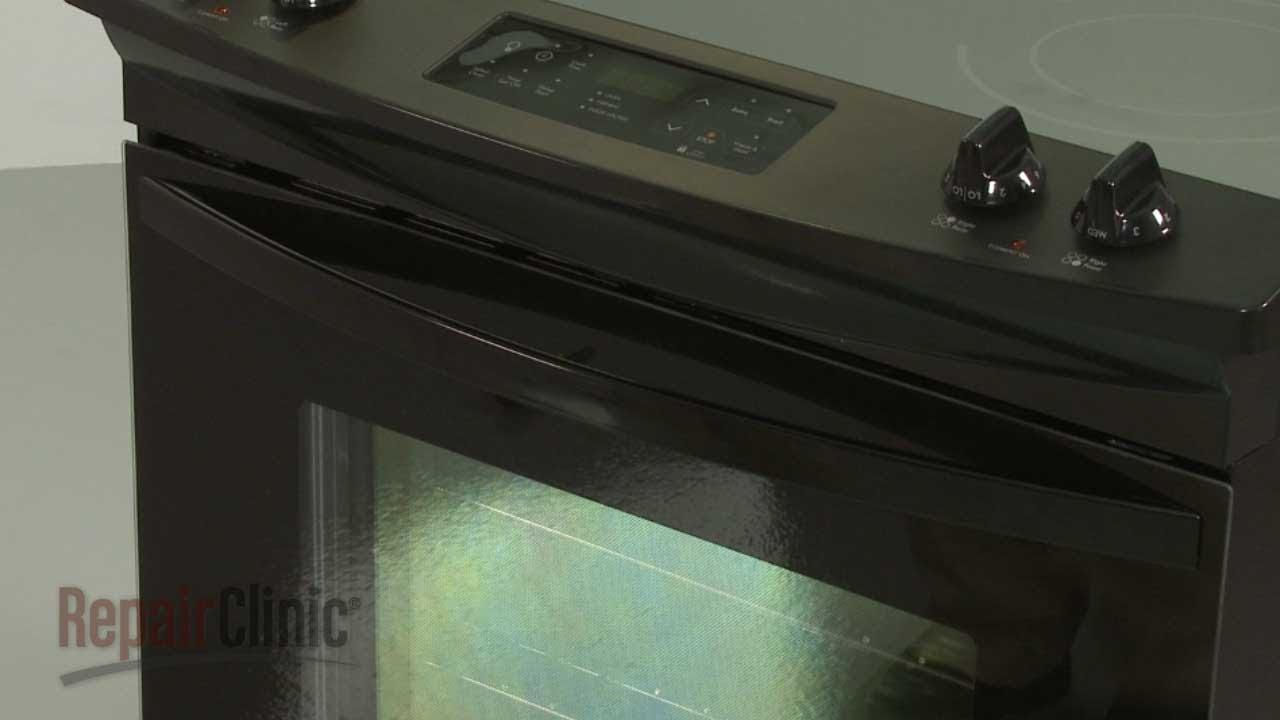 Kenmore Electric Range Door Handle Replacement #318372417 - YouTube