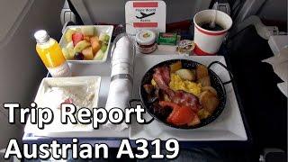 Trip Report   Austrian Airlines Airbus A319   Economy   TXL - VIE