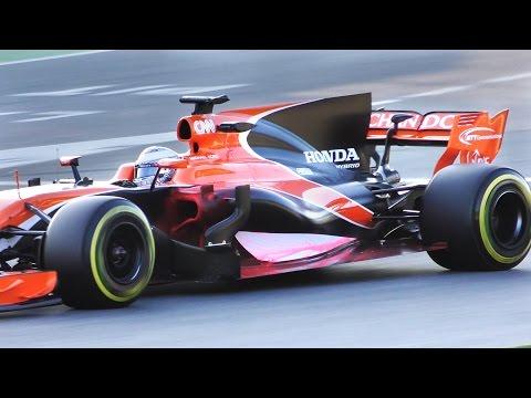 Formula 1 2017 SOUND  -  Fernando Alonso Testing F1 McLaren MCL32
