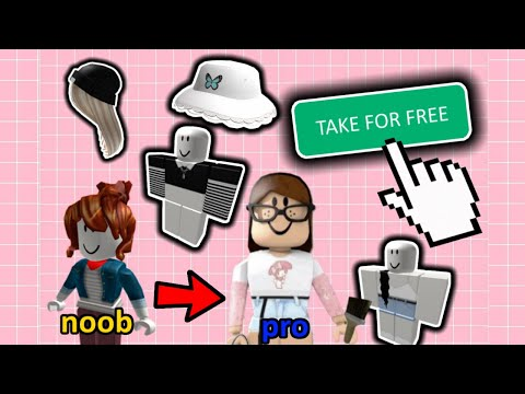 How to Get These Aesthetic Items/Clothes for FREE on Roblox - Aesthetic Roblox Outfits With NO Robux