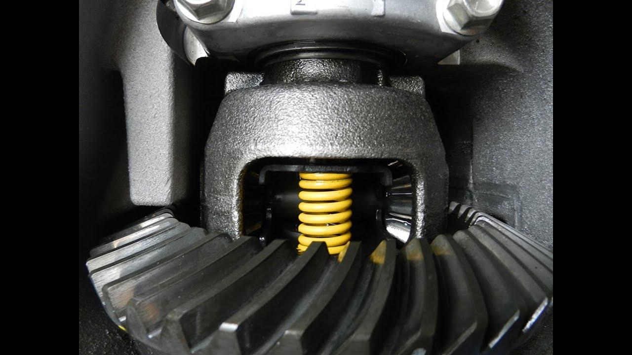 Задний самоблокирующийся дифференциал Super LSD на Mazda CX-7