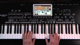 Корг Pa3X Ле відео-керівництво - Частина 2: звуків