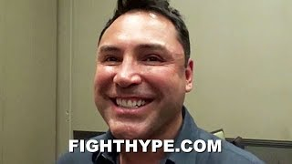"DE LA HOYA REACTS TO GERVONTA DAVIS AND RYAN GARCIA SPARRING BEEF: ""RYAN GARCIA CAN HOLD HIS OWN"""