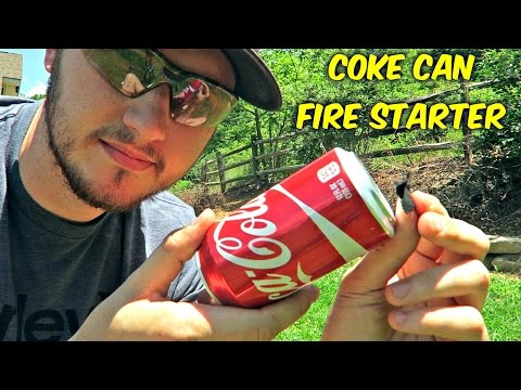 Thumbnail: Can You Start a Fire with Coke Can?