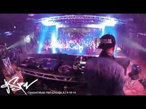 DJ-SPIN @ Concord Music Hall (Chicago,IL) 4-16-14