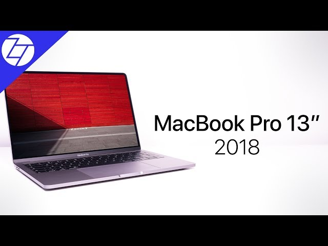 NEW MacBook Pro 13 (2018) - Unboxing & My Initial Review!