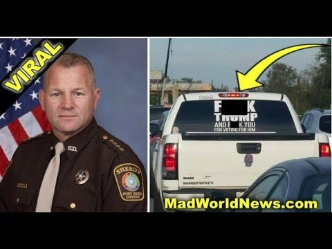 TEXAS SHERIFF SEES F* TRUMP SIGN ON MEXICAN'S TRUCK OFFERS A BETTER IDEA INSTEAD!