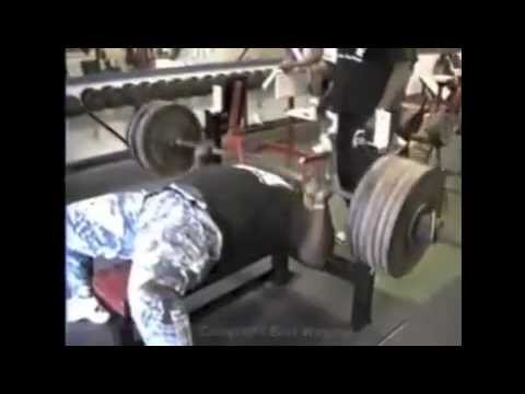600 Lb Bench Press For 3 Reps (RAW) - JAMES HENDERSON