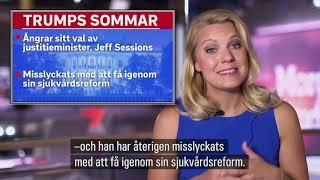 "Trumpsommar. Carina Bergfeldt i ""Trumptisdag"""