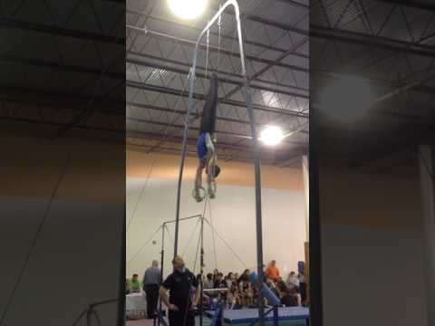 Daniel Szarvas Louisiana Men's Gymnastics State Meet 2017 Rings