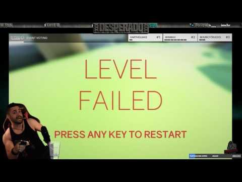 ClusterTruck Game Dev's Troll'd ME LIVE!  xxxDESPERADOxxx