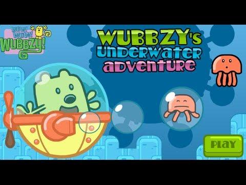 Wubbzy's Underwater Adventure - Games For Kids (Walkthrough)