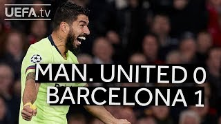 MAN. UNITED 0-1 BARCELONA #UCL HIGHLIGHTS