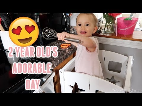 TODDLER'S DAILY SCHEDULE & ROUTINE| SLEEP & FOOD| Day in the life of a Toddler| Tres Chic Mama