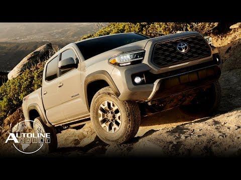 The 2020 Toyota Tacoma facelift