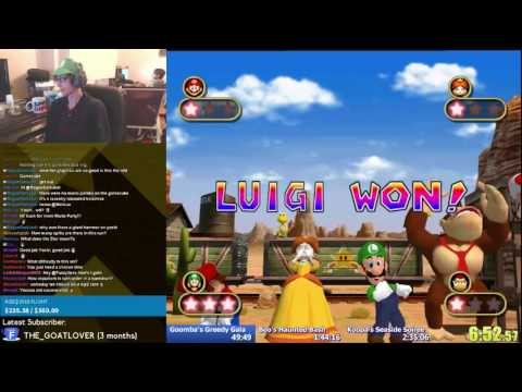 Mario Party 4 4:52:24 Story Mode Expert WR World Record 04/11/2015