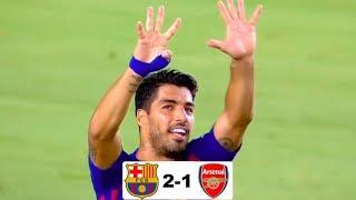 Барселона - Арсенал 2-1 обзор матча