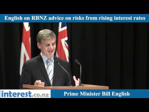 English on RBNZ's rate rise risk advice