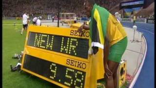 Download Video Usain Bolt new 100m world record: 9.58!!! MP3 3GP MP4