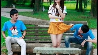 Funny Chinese videos - Prank chinese 2017 #1 can't stop  laugh