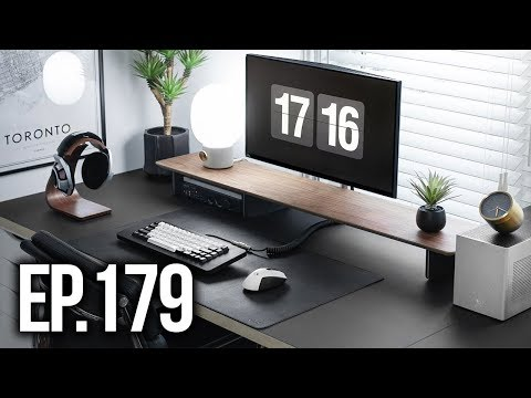 Room Tour Project 179 - Clean & Minimal Setup Edition!