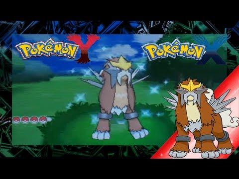 Pokemon X and Y Shiny Entei - YouTube