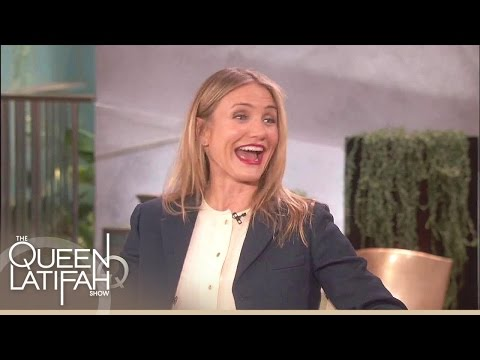 Cameron Diaz On Playing Miss Hannigan | The Queen Latifah Show