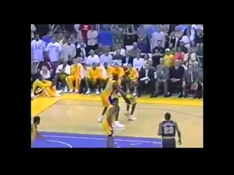 indiana pacers @ Los Angeles Lakers March 5th 2003, Robert Horry Hits Game Winner