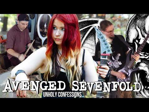AVENGED SEVENFOLD - Unholy Confessions [COVER] [INSTRUMENTAL] | Jassy J, Paddl & WhiteSlash