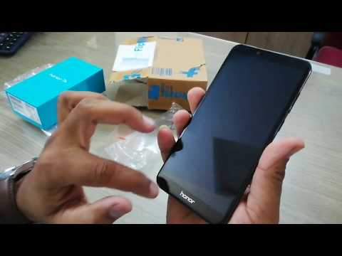 Huawei Honor 7A Unboxing In Hindi