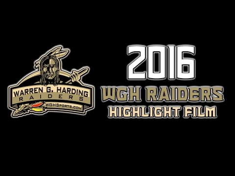 2016 Warren Harding Raiders football Highlight Film
