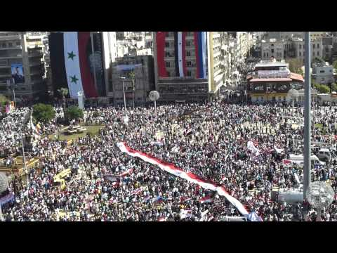 Syria - Rally in Aleppo - The End