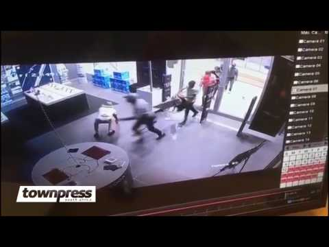 Incredible Connection Robbery at Mall of Africa