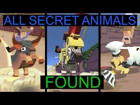 ALL SECRET ANIMALS FOUND | RODEO STAMPEDE