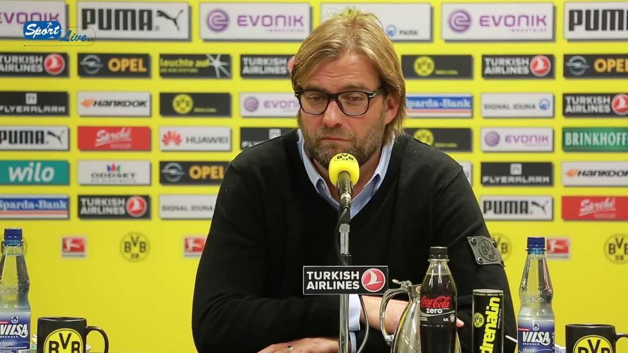 BVB Pressekonferenz vom 17. Oktober 2013 vor dem Spiel Borussia Dortmund gegen Hannover 96