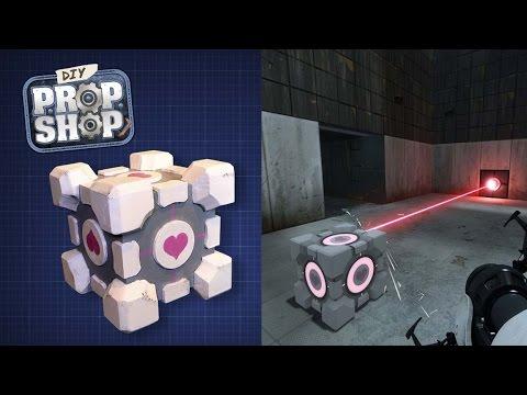 DIY Companion Cube! (Portal) - DIY Prop Shop