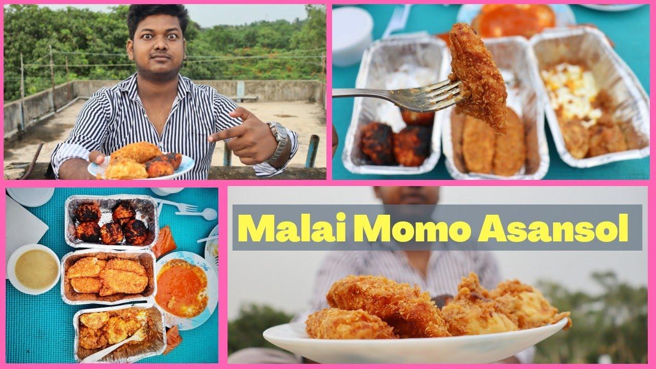 Malai Momo & Kurmur Momo First Time In Asansol By Momo Mia One of The Best Momo of Asansol