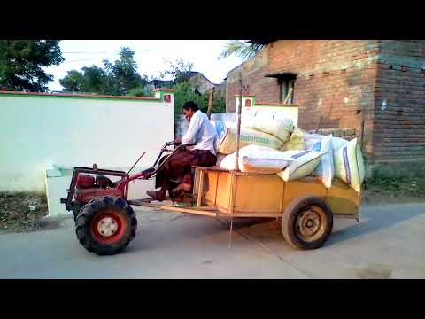 Transporting agriculture purpose in small farms very useful