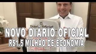 Prefeito João Doria Jr. anuncia o novo Diário Oficial da Prefeitura de São Paulo - 01/03/2017