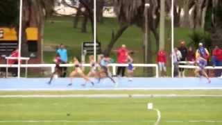 800m Llanos Femenino Final Sudamericano Sub 23 - 2014, Montevideo Uruguay
