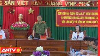 Đại tướng Tô Lâm thăm và làm việc tại Công an tỉnh Bạc Liêu   ANTV