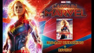 MARVEL STUDIOS' CAPTAIN MARVEL - BLURAY UNBOXING AND REVIEW!